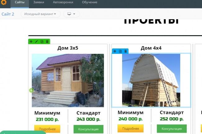 Создам лендинг на популярных платформах 17 - kwork.ru