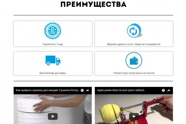 Создам лендинг на популярных платформах 47 - kwork.ru