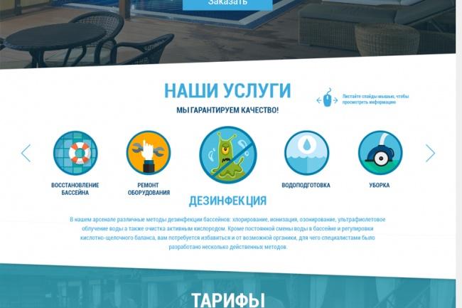 Создам лендинг на популярных платформах 46 - kwork.ru