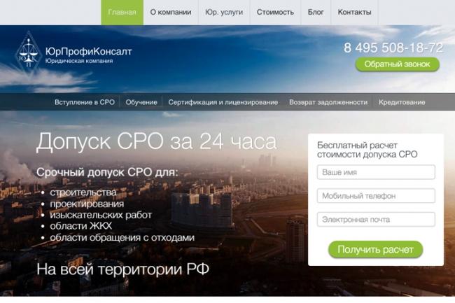 Создам лендинг на популярных платформах 41 - kwork.ru