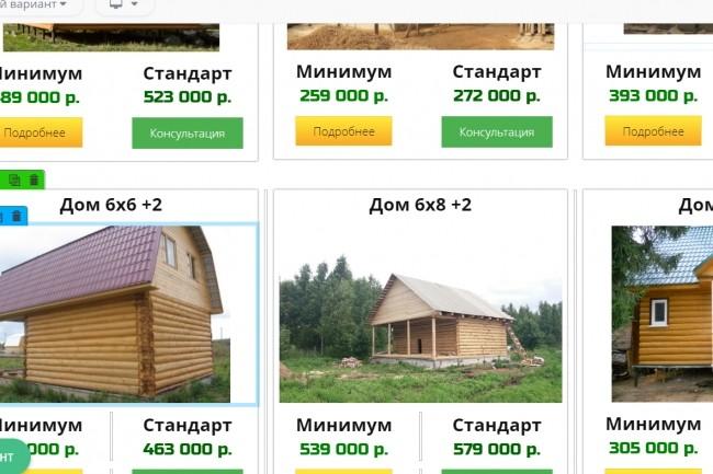 Создам лендинг на популярных платформах 18 - kwork.ru