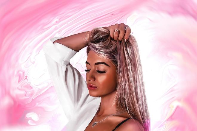 Качественный Digital Art Портрет 9 - kwork.ru