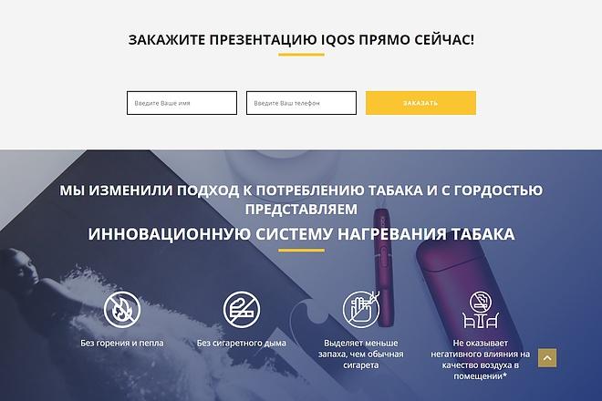 Сайт под ключ. Landing Page. Backend 173 - kwork.ru