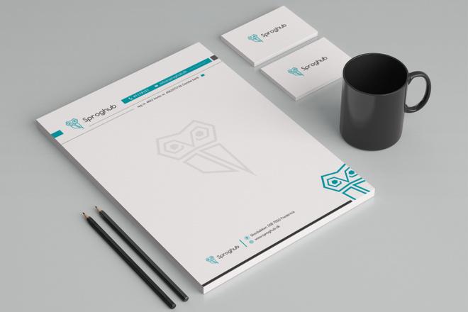 Создам фирменный стиль бланка 68 - kwork.ru