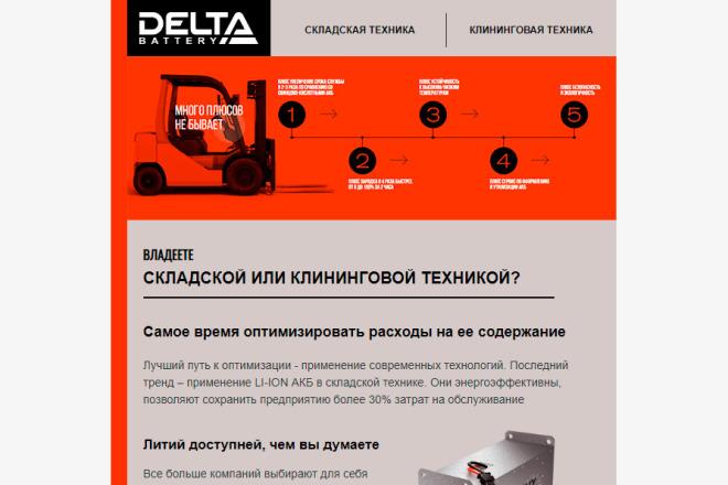 Создание и вёрстка HTML письма для рассылки 25 - kwork.ru