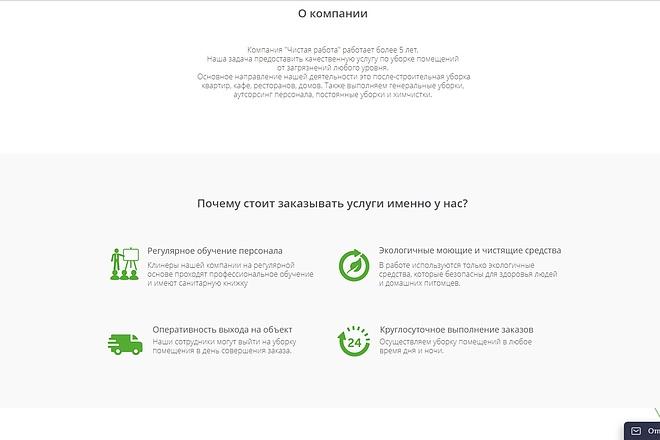 Скопирую Landing Page, Одностраничный сайт 62 - kwork.ru