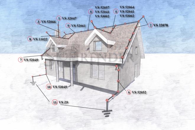 Фотореалистичная 3D визуализация экстерьера Вашего дома 41 - kwork.ru