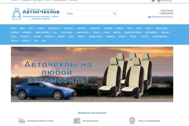 Профессионально создам интернет-магазин на insales + 20 дней бесплатно 60 - kwork.ru