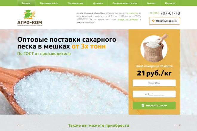 Копия сайта, landing page + админка и настройка форм на почту 32 - kwork.ru