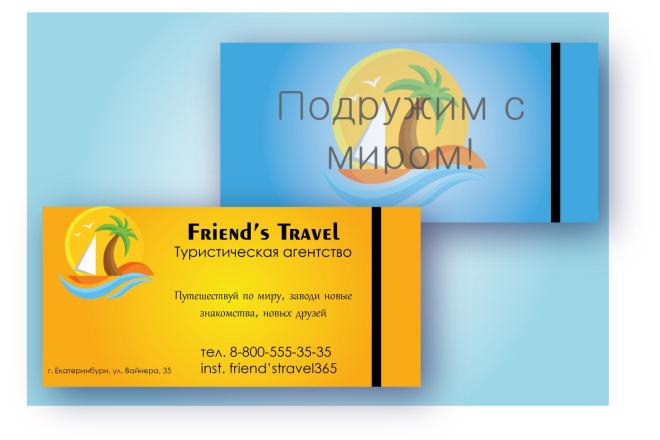 Закажите эксклюзивную визитку 2 - kwork.ru