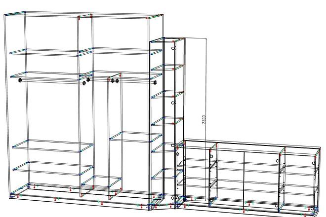 Конструкторская документация для изготовления мебели 98 - kwork.ru