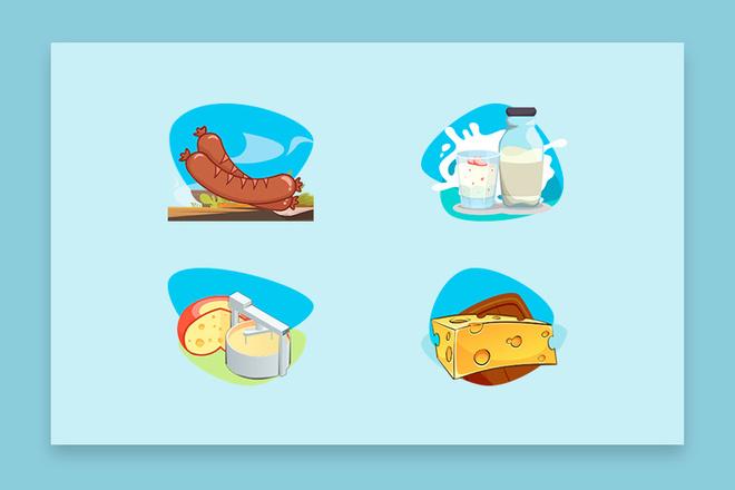 До 10 иконок или кнопок для проекта 11 - kwork.ru