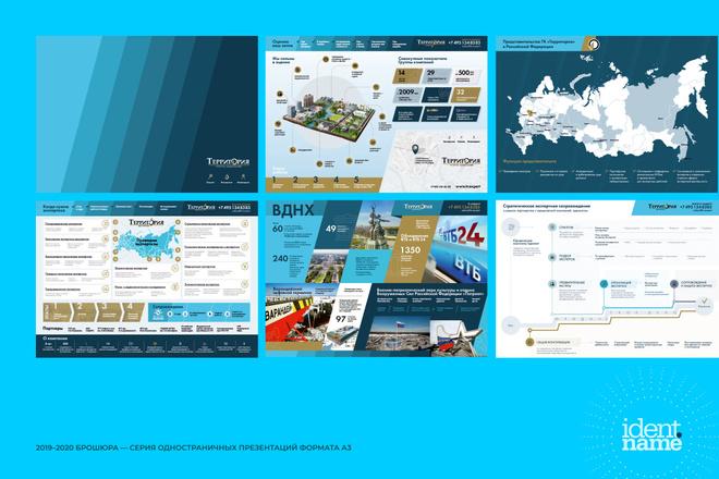 Концепт-дизайн, шаблон презентации 3 - kwork.ru