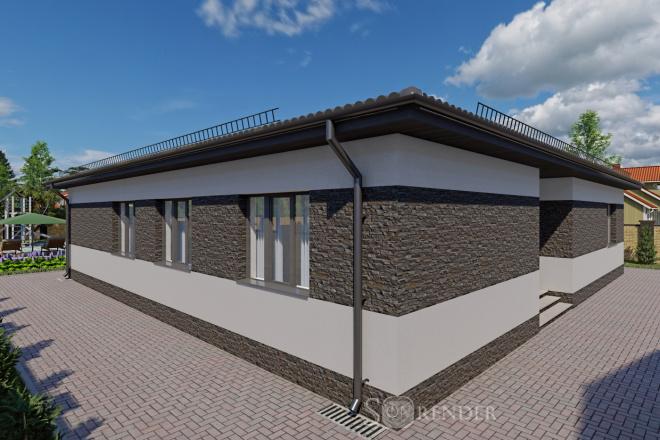 Фотореалистичная 3D визуализация экстерьера Вашего дома 45 - kwork.ru