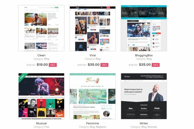 ПАК 1000 шаблонов и дополнений для WordPress 33 - kwork.ru