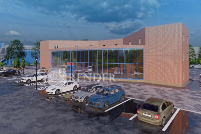 Фотореалистичная 3D визуализация экстерьера Вашего дома 36 - kwork.ru