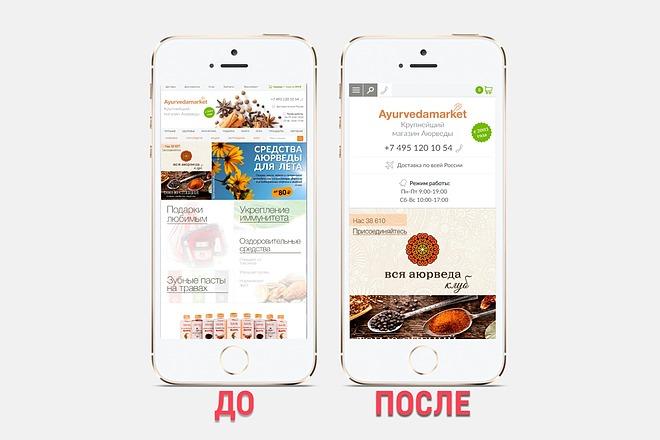 Адаптация сайта под все разрешения экранов и мобильные устройства 32 - kwork.ru