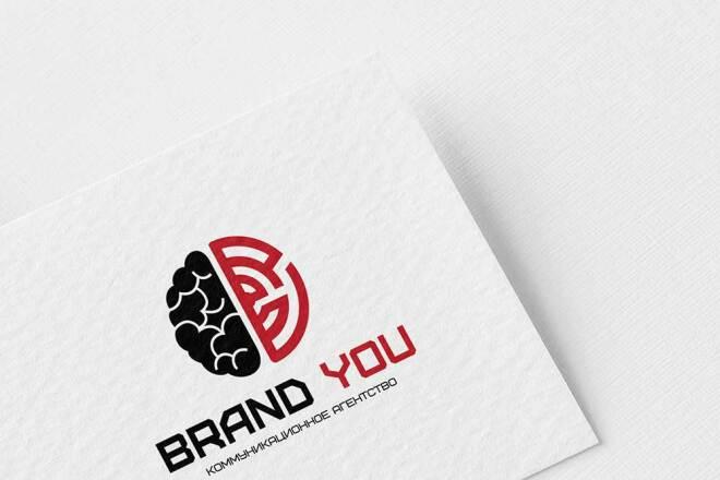 Создам 3 потрясающих варианта логотипа + исходники бесплатно 8 - kwork.ru