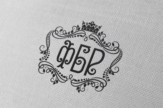 Разработаю винтажный логотип 37 - kwork.ru
