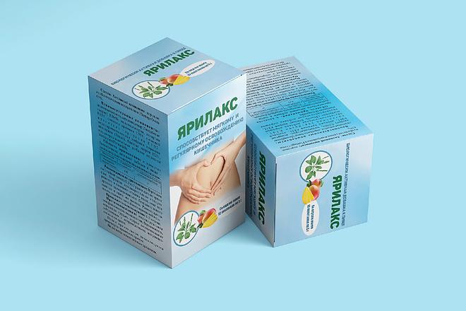 Дизайн упаковки или этикетки 59 - kwork.ru