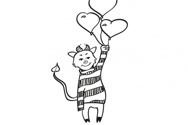 Нарисую любую иллюстрацию в стиле doodle 31 - kwork.ru