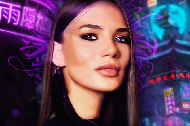 Качественный Digital Art Портрет 11 - kwork.ru
