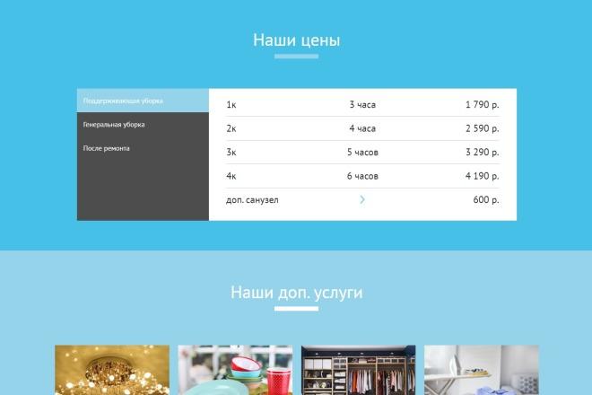 Сайт под ключ. Landing Page. Backend 80 - kwork.ru
