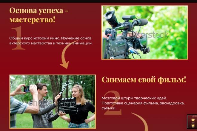 Вёрстка сайтов по доступной цене 45 - kwork.ru
