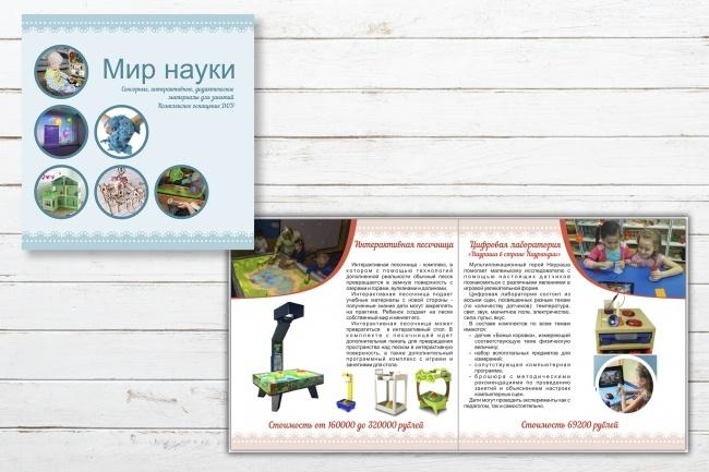 Верстка каталога, журнала, меню 10 - kwork.ru