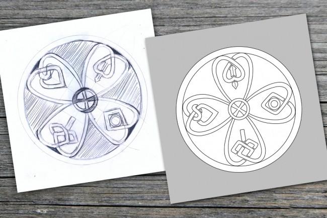 Отрисую в вектор Ваш логотип или изображение 6 - kwork.ru