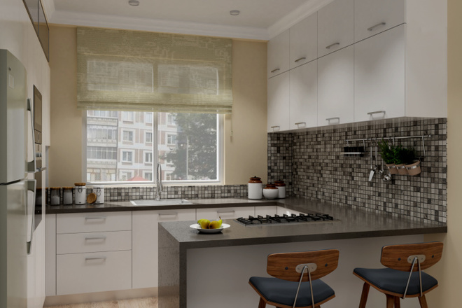 Дизайн-проект кухни. 3 варианта 24 - kwork.ru