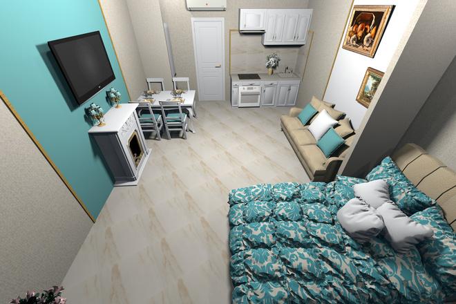 3d визуализация квартир и домов 55 - kwork.ru