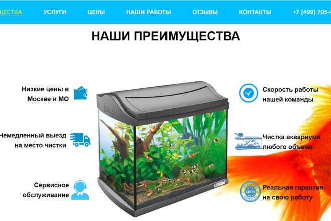 Создание сайта - Landing Page на Тильде 150 - kwork.ru