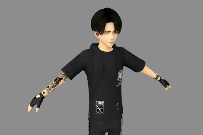 3D персонаж для игрового проекта 13 - kwork.ru