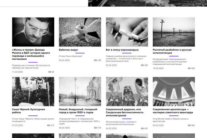 Доработка и исправления верстки. CMS WordPress, Joomla 13 - kwork.ru