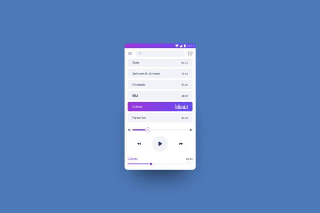 Дизайн мобильного приложения 5 - kwork.ru