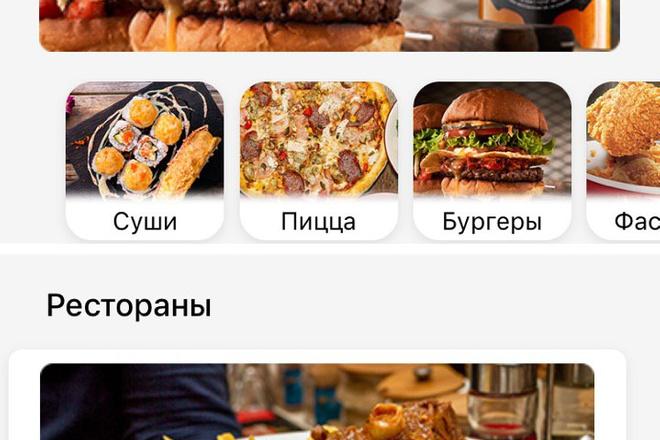 Разработка мобильного приложения под ключ 1 - kwork.ru