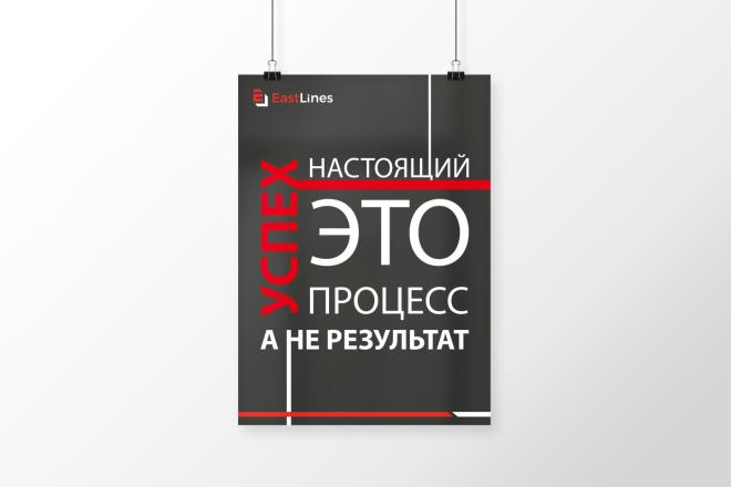 Разработаю дизайна постера, плаката, афиши 14 - kwork.ru