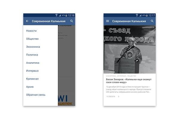 Конвертирую Ваш сайт в удобное Android приложение + публикация 79 - kwork.ru