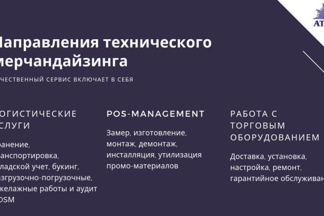 Стильный дизайн презентации 383 - kwork.ru