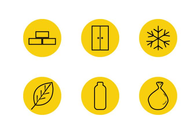 Нарисую 6 иконок в любом стиле 3 - kwork.ru