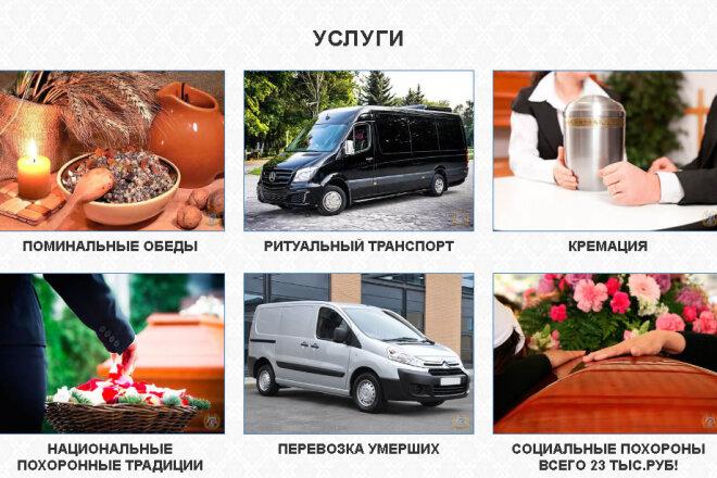 Копирование Landing Page и перенос на Wordpress 2 - kwork.ru