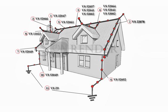 Фотореалистичная 3D визуализация экстерьера Вашего дома 40 - kwork.ru
