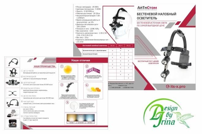 Дизайн буклетов 6 - kwork.ru
