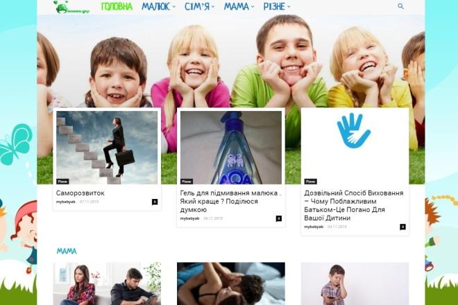 Создам автонаполняемый сайт на WordPress, Pro-шаблон в подарок 40 - kwork.ru