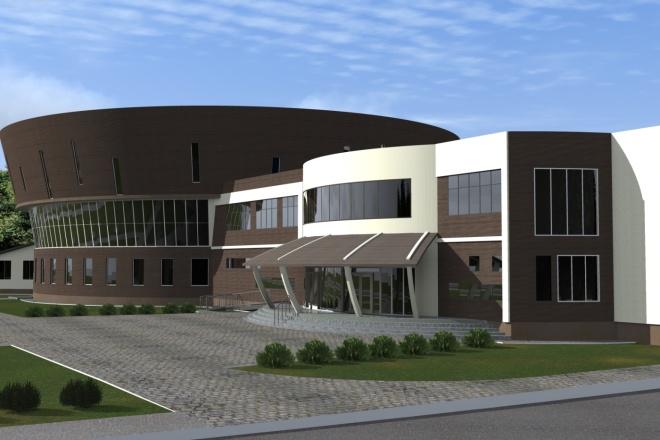 Визуализация экстерьера, фасадов здания 27 - kwork.ru