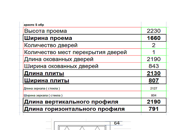 Изготовления проекта для мебели с технической документацией 11 - kwork.ru