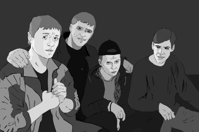 Нарисую портрет по фотографии 2 - kwork.ru