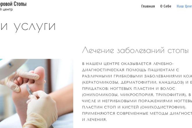 Создам типовой сайт компании 2 - kwork.ru