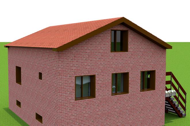 3d визуализация квартир и домов 8 - kwork.ru